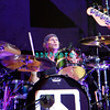 ATLANTIC CITY, NJ - AUGUST 22:  Drummer, Chad Smith of the band Chickenfoot performs at the House of Blues on August 22, 2009 in Atlantic City, New Jersey.  =