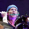 ATLANTIC CITY, NJ - AUGUST 22:  Drummer, Chad Smith of the band Chickenfoot performs at the House of Blues on August 22, 2009 in Atlantic City, New Jersey.