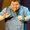 Frank Caliendo performs his George Bush comedy routine at the Borgata Music Box on Saturday evening, February 28, 2009 in Atlantic City, NJ.