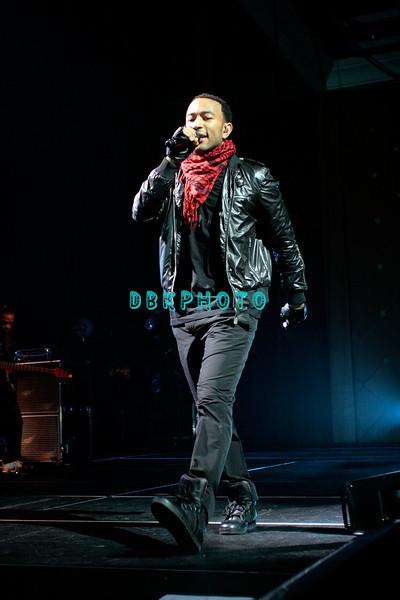 ATLANTIC CITY, NJ - FEBRUARY 07:  John Legend performs in the Event Center at the Borgata Hotel Casino & Spa on February 7, 2009 in Atlantic City, New Jersey.