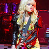 ATLANTIC CITY, NJ - JUNE 26:  Orianthi, opening act for Adam Lambert