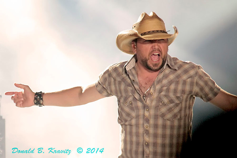 ATLANTIC CITY -  Jason Aldean appeared in concert at Boardwalk Hall in Atlantic City, NJ on May 3, 2014. .