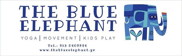 BLUE ELEPHANT BANNER