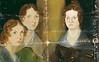 The Brontë sisters, by Branwell Brontë<br /> National Portrait Gallery, London, UK