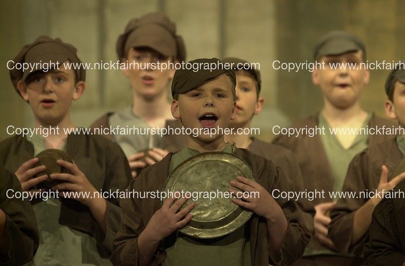 "Action from Wigan Little Theatre's latest hit production ""Oliver!"".  Picture by Nick Fairhurst.<br /> CHARLES"