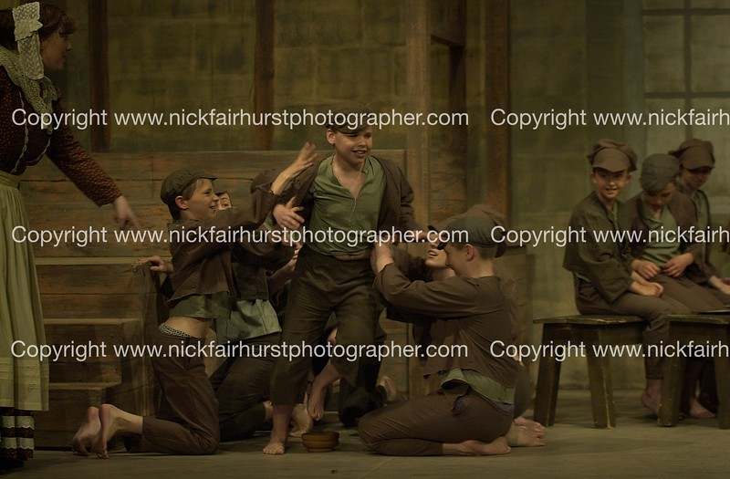 """Action from Wigan Little Theatre's latest hit production """"Oliver!"""".  Picture by Nick Fairhurst.<br /> CHARLES"""
