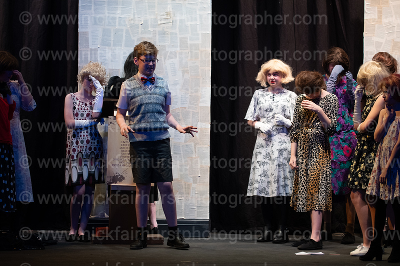 "Wigan Little Theatre Youth Theatre's production of The Witches.  Picture by  <a href=""http://www.nickfairhurstphotographer.com"">http://www.nickfairhurstphotographer.com</a>"
