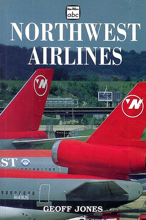 1999 Northwest Airlines, by Geoff Jones, 1st edition, published November 1998, 96pp £8.99, ISBN 0-7110-2606-8, code: 9811/B2. Also published 1999 in the USA by Plymouth Press, ISBN 1-882663-28-4, US$12.95.