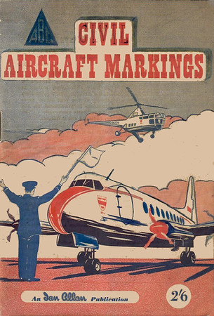 1952 Civil Aircraft Markings, 2nd edition, by J W R Taylor, published March 1952, 76pp 2/6, code: 214/65/100/352. See comments for previous photo.