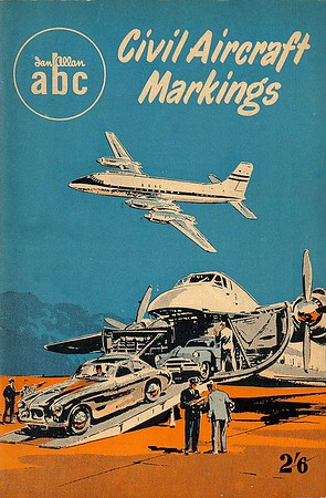 1955 Civil Aircraft Markings, 5th edition, by J W R Taylor, published March 1955, 80pp 2/6, no code.