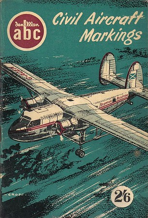 1957 Civil Aircraft Markings, 7th edition, by J W R Taylor, published March 1957, 88pp 2/6, code: 584/413/200/357.