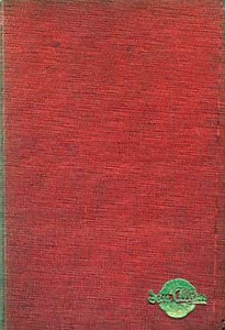 Summer 1951 Combined Volume minus dust jacket; this is a red example. ABC OF BRITISH LOCOMOTIVES in gold along length of spine, with IAN ALLAN in smaller letters. Gold Ian Allan logo on front cover.
