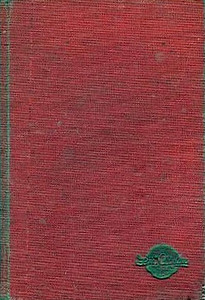 1948 Combined Volume minus dust jacket; this is a red example. ABC OF BRITISH LOCOMOTIVES in gold along length of spine, with IAN ALLAN in smaller letters. Gold Ian Allan logo on front cover.