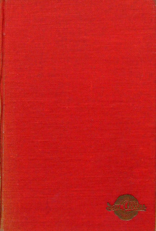 1949 Combined Volume minus dust jacket; this is a red example. ABC OF BRITISH LOCOMOTIVES in gold along length of spine, with IAN ALLAN in smaller letters. Gold Ian Allan logo on front cover.