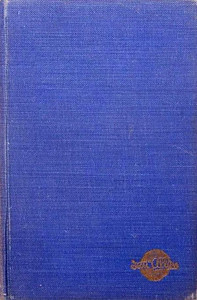 1949 Combined Volume minus dust jacket; this is a blue example. ABC OF BRITISH LOCOMOTIVES in gold along length of spine, with IAN ALLAN in smaller letters. Gold Ian Allan logo on front cover.