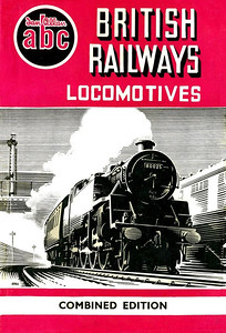 Winter 1952 British Railways Locomotives, Combined Volume, published September 1952, 248pp 10/-, no code. Dust sheet drawing by A N Wolstenholme features BR Standard Class 4MT 2-6-4T 80025, as used on all Winter 1952 editions.