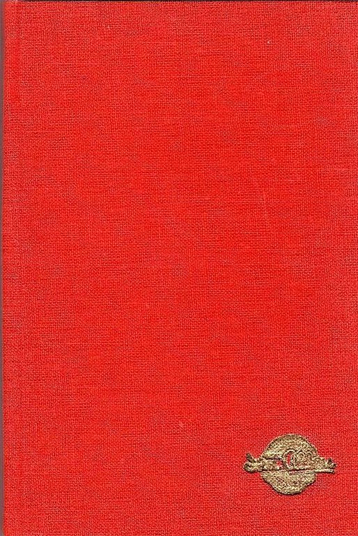 Winter 1951 Combined Volume minus dust jacket; red. ABC OF BRITISH LOCOMOTIVES in gold along length of spine, with IAN ALLAN in smaller letters. Gold Ian Allan logo on front cover.