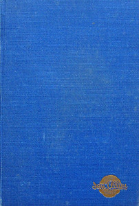 1948 Combined Volume minus dust jacket; this is a light blue example (this may just be a faded example of the previous image). ABC OF BRITISH LOCOMOTIVES in gold along length of spine, with IAN ALLAN in smaller letters. Gold Ian Allan logo on front cover.