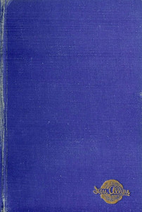 1950 Combined Volume minus dust jacket; this is a darker blue example. ABC OF BRITISH LOCOMOTIVES in gold along length of spine, with IAN ALLAN in smaller letters. Gold Ian Allan logo on front cover.