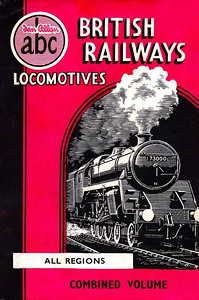 Winter 1951 British Railways Locomotives, Combined Volume. Published October 1951, 240pp 9/6, no code. Dust sheet drawing by A N Wolstenholme shows BR Standard Class 5MT 4-6-0 73000; once again, a standardised cover design for all editions.
