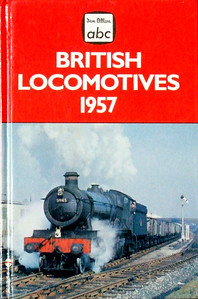 "Winter 1957 British Locomotives, Combined Volume (1993 reissue), published November 1993, 240pp £6.99, ISBN 0-7110-2203-8, no code. Cover photo of WR 'Hall' Class 4-6-0 5945 ""Leckhampton Hall""; 'Combined Volume' strangely omitted from the book title. Unpriced BCA edition also printed at the same time. The foldout V Welch painting of 46257 ""City of Salford"" which was in the original book is not included in this reissue."
