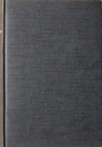 1948 Combined Volume (March 1975 & September 1977 reissues with 1950 Locoshed) minus dust jacket, black. '1948-50 British Railways Locomotives' printed horizontally in gold, and 'IAN ALLAN' horizontally at the bottom of the spine. No text or logo on the front cover.