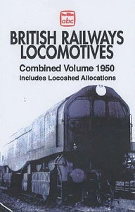1950 British Railways Locomotives, Combined Volume (2005 reissue), published April 2005, 352pp £10.99, ISBN 0-7110-3106-1, code unknown. I'm not convinced this edition was ever issued, but the cover (with a different photo of a 'Leader') was certainly used to advertise the book. If anyone actually has a copy of this edition (which I doubt), please let me know that it exists...