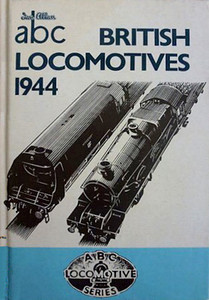 1944 British Locomotives, Combined Volume (1993 reissue), 2nd Impression, published April 1993, 208pp £6.99. ISBN 0-7110-2113-9. This edition had a number of versions, the first has the IA logo on the spine; printed at the same time, & coded CN2108, another version doesn't have the spine logo. This is entirely the result of fading, and I've included it here just in case anyone should chance upon such a book, and would like to know just what it is they've got. BCA (book club) reprints from April 1993 carry no code.