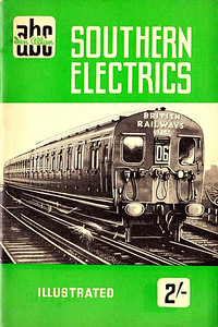 1950 Southern Electrics, published September 1950, 40pp 2/-, code: 110/361/100/950. Cover sketch of 4-SUB 4357.