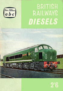 "Winter 1959 British Railways Diesels, published November 1959, 67pp 2/6, code: 963/574/1159. Includes diesel multiple-units. The cover is from a Vic Welch painting of 'Peak' D1 ""Scafell Pike""."