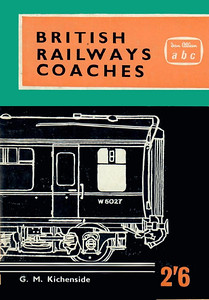 1962 British Railways Coaches, 3rd edition, published August 1962, 64pp 2/6, code: COA/1180/772/150/862. Cover has an uncredited line drawing of W5027. As with the earlier editions, no lists of numbers to be found here; it would have been very disappointing for a spotter, had there not been such a lot of locos & units to be getting on with!