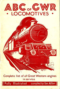 1943 2nd edtn - ABC of GWR Locomotives, published October 1943, 31pp 1/6, no code. A list of locomotive running sheds with codes appeared in this edition. Some photos in this edition, with a cover drawing of a 'King' Class 4-6-0 by Baldwin. This 2nd edition was reissued in 1982 and reprinted again in 1983 (see Section 012).