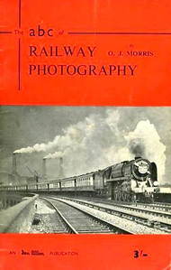 1952 Railway Photography, by O J Morris, published July 1952, 33pp 3/-. Cover photo of a 'Britannia' Class 4-6-2 hauling 'The Golden Arrow', with Battersea power station as a backdrop.