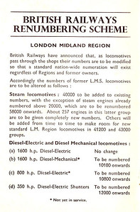 1948 11th edtn - ABC of LMS Locomotives, 10th edition (2nd), published April 1948, 65pp 2/-, no code; inside front cover - completely different from 10th edition, although utilizing the same cover.