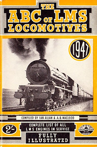 "1947 8th edtn - The ABC of LMS Locomotives 1947 (8th edition, unmarked), compiled by Ian Allan & A B MacLeod, published February 1947, 64pp 2/-, no code. This (along with the 1946 SR 10th edition, and 1st/2nd editions of Southern Electrics) featured the only covers with photographs between 1943 and 1959; in this case the photo is of 'Princess' Class Pacific 6207 ""Princess Arthur of Connaught""."