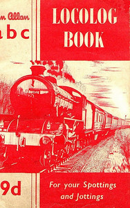 1956 Locolog Book, published September 1956, price 9d. Cover shows a B1 Class 4-6-0.