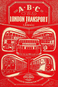 1944 ABC of London Transport Services (1st edition, December 1944), published 2004, 48pp £4.99, ISBN currently unknown. Reprinted with original cover, and features LT trains, trams & buses.
