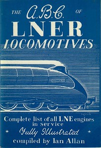 "1943 ABC of LNER Locomotives (1st edition, June 1943), published 1982, 64pp 50p, code: EX/82, ISBN 0-7110-1260-1; reprinted 1983, priced 60p and coded EX/83. Cover exactly the same as the original, showing A4 Class Pacific 22 ""Mallard"". Two examples have been shown here to show the difference in the range of blue used, although not neccessarily differing between 1982 and 1983."