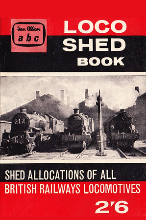 Spring 1961 Locoshed Book, published January 1961, 96pp 2/6, code: 1061/659/600/161. No photos inside. Cover photo of a WR shed scene. Reissued in 2004 with a new cover, priced £4.99, ISBN 0-7110-3060-X, no code (see Section 013).