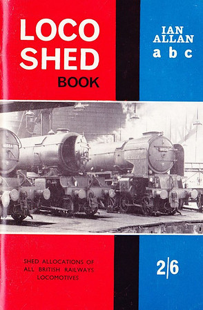 "1963 Locoshed Book, published June 1963, 72pp 2/6, code: LS/1238/30/500/663. No photos inside. Cover photo of A1 Class Pacific 60126 ""Sir Vincent Raven""; content now reduced to 72 pages. Only one Locoshed edition was produced in 1963."