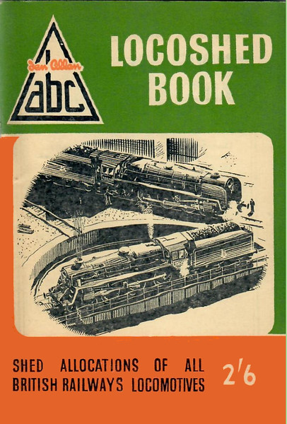Spring 1958 Locoshed Book, published December 1957, 96pp 2/6, code: 746/485/350/1257. No photos inside. A N Wolstenholme cover drawing of BR Standards & turntable; the same picture was used on the previous two editions.