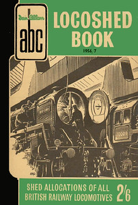 Autumn 1956 Locoshed Book, published June 1956, 96pp 2/6, code: 553/394/250/656. No photos inside A N Wolstenholme cover drawing of a BR 'Britannia' class Pacific, same cover drawing as the Spring 1956 edition.