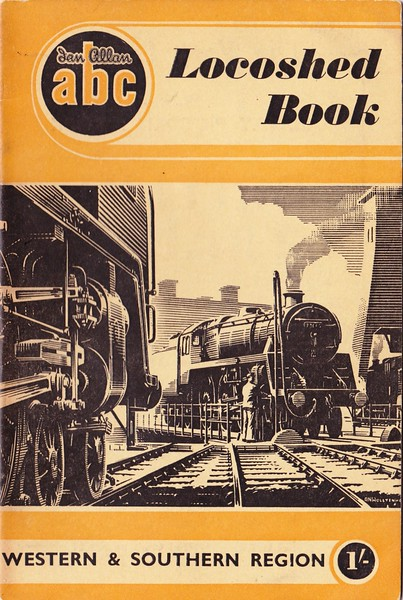 1952 Locoshed Book - Western & Southern Regions.