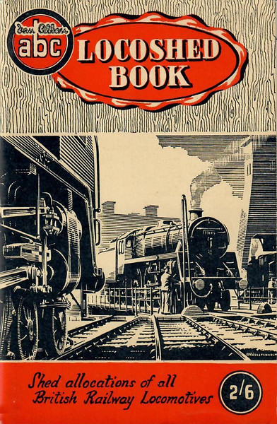 1953 Locoshed Book, published March 1953, 96pp 2/6, no code. Np photos. A N Wolstenholme cover drawing of a BR Standard Class 5MT 73xxx 4-6-0 on a turntable (same image as on the 1952 editions).