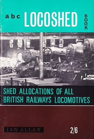 Autumn 1964 Locoshed Book, published August 1964, 64pp 2/6, code: LS/1305/97/300/864. No photos inside. Cover photo is an inside view of Holbeck MPD. Further steam withdrawals lead to the book now only requiring 64 pages.