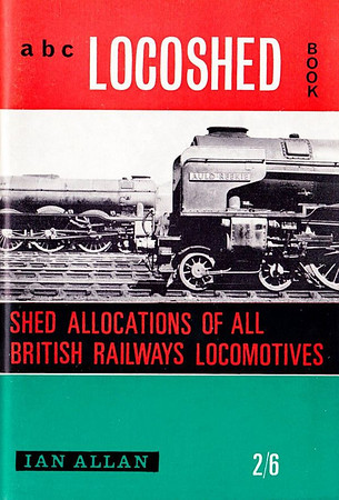 "Spring 1964 Locoshed Book, published February 1964, 72pp 2/6, code: LS/1305/97/500/264. No photos inside. Cover photo of A1 Class Pacific 60160 ""Auld Reekie""."