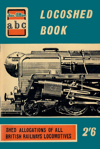 Spring 1959 Locoshed Book, published January 1959, 96pp 2/6, code: 876/518/500/159. No photos inside. Cover drawing of the front end of a BR Standard Class 9F 2-10-0.