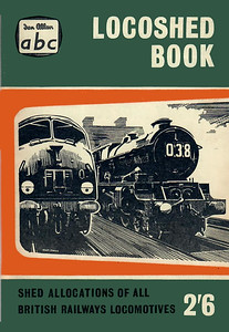 Autumn 1959 Locoshed Book, published July 1959, 96pp 2/6, code: 925/550/600/759. No photos inside. Cover drawing of a 'Warship' Class diesel and a WR 'King' Class 4-6-0. This edition was included as part of the Winter 1959 Combined Volume reissue of 1976, reprinted 1983, and reissued again in 1995 (see Section 012).