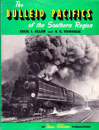 "1951 The Bulleid Pacifics of the Southern Region, by Cecil J Allen & R C Townroe, published 1951, 80pp, no code. Cover photo of 'WC' Class  21C139 ""Boscastle"". Although not strictly speaking an ABC, I thought this hardback publication was relevant enough to include. It includes tables, line drawings, illustrations and black & white photos."