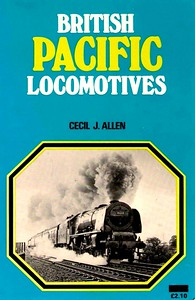 1976 (?) British Pacific Locomotives, reprint, by Cecil J Allen, published 1976 (?), 240pp £2. 10, ISBN 0-7110-0261-4. Softback. Same photo of 46238 on cover.